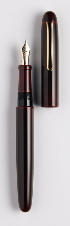"Custom Nakaya Fountain Pen; mine has the phrase ""Hear the Harmony of Words"" inscribed in Kanji on the barrel"