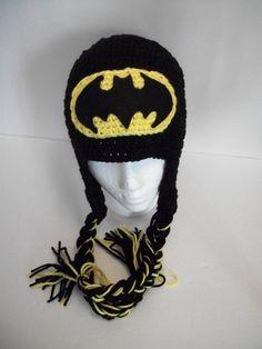 Baby/Toddler/Child Crochet Batman Hat/Beanie by KiarasHandmade, $25.00