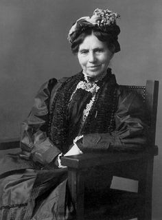 Clara Barton      Teacher, Nurse, Humanitarian, Founder and first president of the American Red Cross