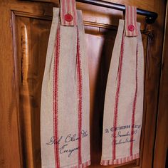A Christmas Carol Kitchen Towels