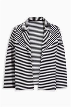 Buy Black/White Stripe Jacket online today at Next: Israel