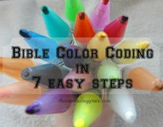 Bible color coding