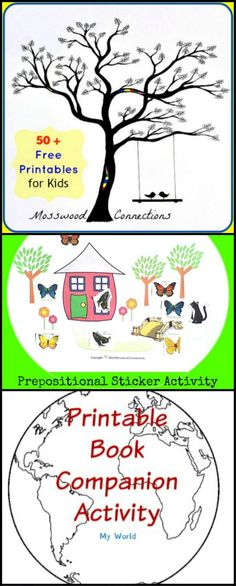 More Than 50 Free Printables for Kids. Worksheets and printables for counting, coloring,, reading and writing, social skills and more!