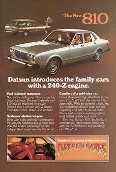 The New 1977 Datsun 810