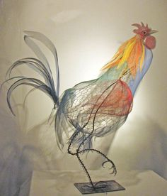 Strutting Rooster by Janet Brome