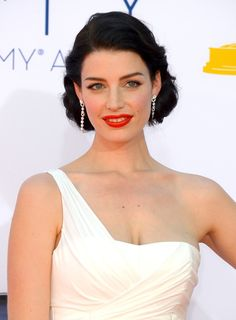 Jessica Pare no Emmy 2012