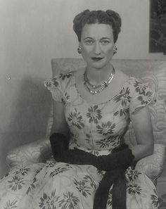 Wallis Simpson, Duchess of Windsor. Wallis Simpson, Women In History, British History, Gracie Kelly, British Nobility, Edward Viii, John Charles, Queen Of Hearts, Women Life