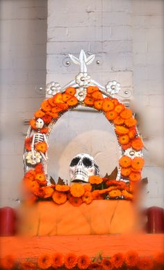Ofrenda in Melbourne, Australia for Days of the Dead. -- beautiful