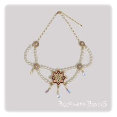 Alice and the Pirates Sheherazade pearl necklace