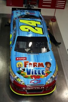 Jeff Gordon will drive this specially painted No. 24 Drive to End Hunger Chevrolet this weekend at Bristol Motor Speedway.