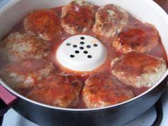 gołąbki bez zawijania zalewamy sosem