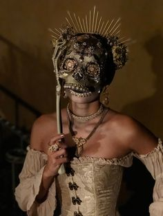 Just your average Queen of Death Aesthetic Women, Red Aesthetic, She's A Lady, Cool Masks, Carnival Masks, Venetian Masks, Masks Art, Beautiful Mask, Masquerade Ball