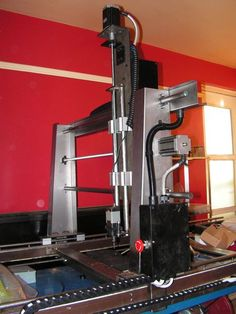 The best instructable Ive seen for a DIY CNC. Also has plans for conversion to 3d printing. Huge steel. Much cool. Very wow.