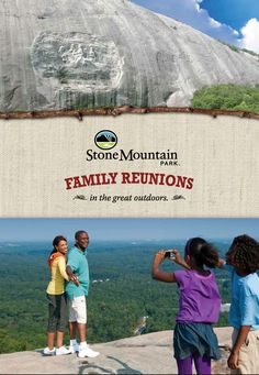 Hold your next Family Reunion in the Great Outdoors at @Stone Mountain Park!    Looking to host your family reunion in a popular Atlanta location? Stone Mountain Park features a wide variety of settings for perfect family events.  For more information visit http://www.stonemountainpark.com/company/family-reunions/