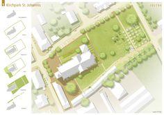 Landschaftsarchitektur+ |Lageplan und Herleitung