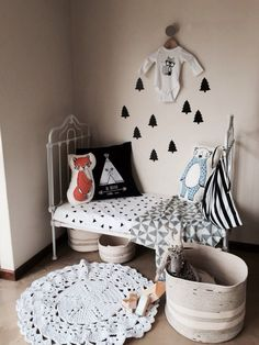 Monochrome Art Wall Kids, Wall Art, Monochrome, Toddler Bed, Kids Rugs, Room, Furniture, Home Decor, Child Bed