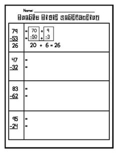 subtraction   Math Magic   Pinterest   Math, School and Teaching ideas