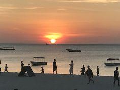 Nungwi, Zanzibar at sunset 🌄😍