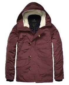 Parka Jacket With Inner Bomber