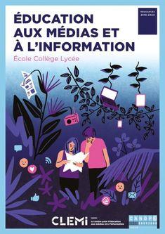 Éducation aux médias et à l'information : Nouvelle brochure du CLEMI Animation, School, Movie Posters, Tights, Critical Thinking Skills, Fle, Learning