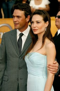 Claire Forlani Photos Photos - Actors Dougray Scott and Claire Forlani arrive at the 13th Annual Screen Actors Guild Awards held at the Shrine Auditorium on January 28, 2007 in Los Angeles, California. - 13th Annual Screen Actors Guild Awards - Arrivals