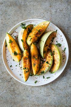 Chili-Lime Melon Salad - Dishing Up the Dirt