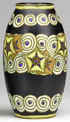 Art Déco - Charles Catteau - Vase