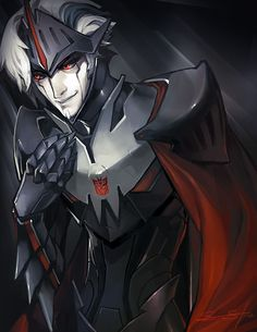 Lord Starscream by fayrenpickpocket.deviantart.com on @deviantART. Amazing design but extremely creepy! As any Starscream in any universe in any form should be! xD