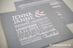 Love The Layout Of This Invitation!