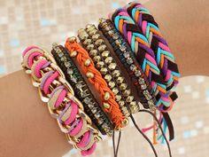 Bracelets. :D Cuteee.