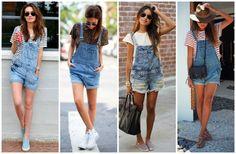 4 Combinações para inspirar seus looks de verão   jardineira jeans