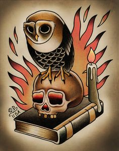 Traditional Owl Tattoos | Add it to your favorites to revisit it later.