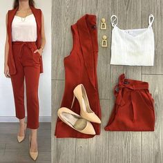 Summer Office Outfits, Casual Work Outfits, Business Casual Outfits, Professional Outfits, Classy Outfits, Stylish Outfits, Glamorous Outfits, Stylish Clothes, Look Fashion