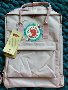 Your place to buy and sell all things handmade Pretty Backpacks, Fjallraven, Cute Embroidery, Craft Organization, Cute Bags, Kanken Backpack, Picasso, Diy Clothes, Nook
