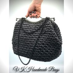 "36 curtidas, 5 comentários - Mademoiselle VK (@mademoiselle_vk) no Instagram: ""#handmadebag #han#handmadeaccessory #handmade #handnadegifts #crochet #crochetbag #crocheting…"""