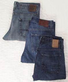 3 Pair Jeans Vintage Levi's Tommy Hilfiger Boot Cut Gap 1969 Slim Boot 29 X 30 #LevisGapTommyHilfiger #BootCut