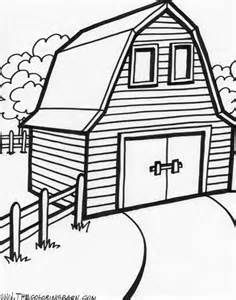 barns and farms coloring pages farm animals farms country