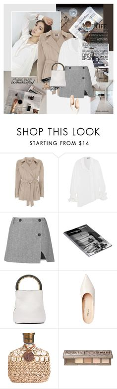 """Lifestyle"" by rainie-minnie ❤ liked on Polyvore featuring Shin Choi, Ann Demeulemeester, Topshop Unique, Marni and Urban Decay"