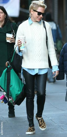 Look of the Day - Michelle Williams