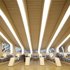Norwegian Vennesla Library, a library, cafe and meeting space