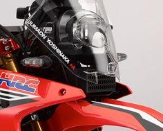 Honda CRF250 Rally looks production ready.