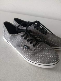 d6d6ba1ed6 Womens Polka Dot Vans size 8  fashion  clothing  shoes  accessories   womensshoes  comfortshoes (ebay link)