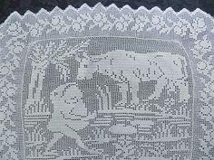 Figural Filet Crochet