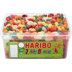 Imported From Abroad Haribo Retro Mini Shrimp & Bananas Foam Sweets Wedding Favours Jars Fancy Colours mon