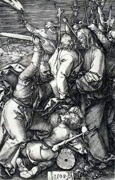 Albrecht Dürer: Judas kiss, 1508.