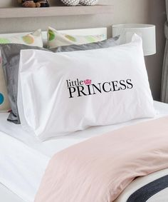 'Little Princess' Standard Pillowcase