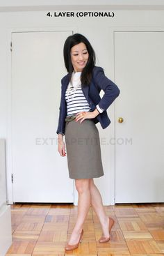 Good example of business casual! Find more examples of interview outfits on LiveCareer's interviewing outfits board!