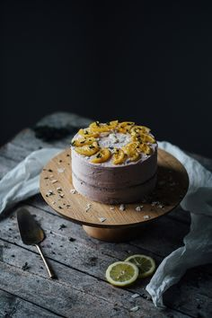 glutenfree parsnip lemon cake with organic products from brodowin