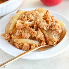 Best Apple Crisp Recipe, Apple Crisp Easy, Apple Crisp Recipes, Pear Crisp, Banana Nut Muffins, Banana Bundt, Banana Pudding, Homemade Hot Chocolate, Homemade Vanilla