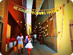 Explore the Neighbour Goods Market in Braamfontein and be inspired.